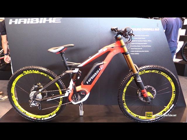 2017 Haibike xDuro Downhill 9.0 Bike - Walkaround - 2016 Eurobike