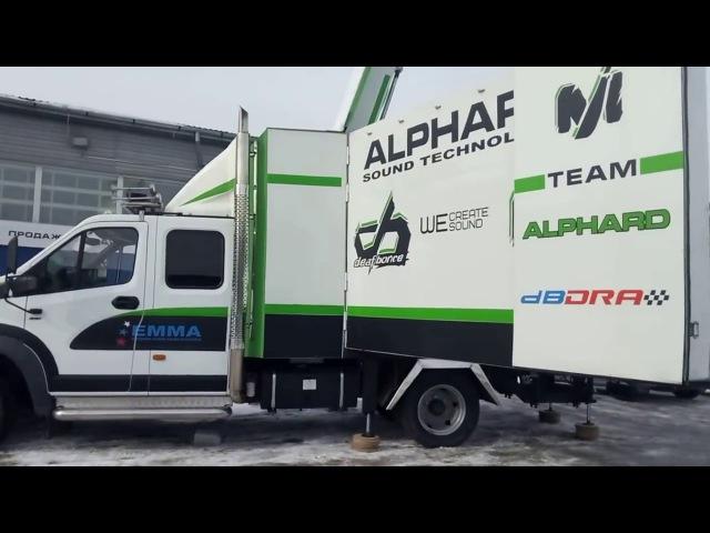 Первый запуск Газон Next Team Alphard в 2017 году