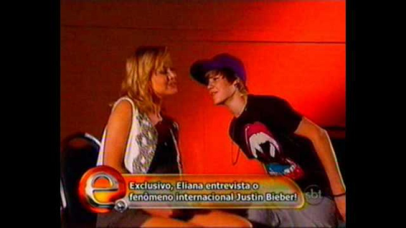 Entrevista do Justin Bieber para a Eliana (SBT) - Parte 2 - [Interview to brazilian TV Show]