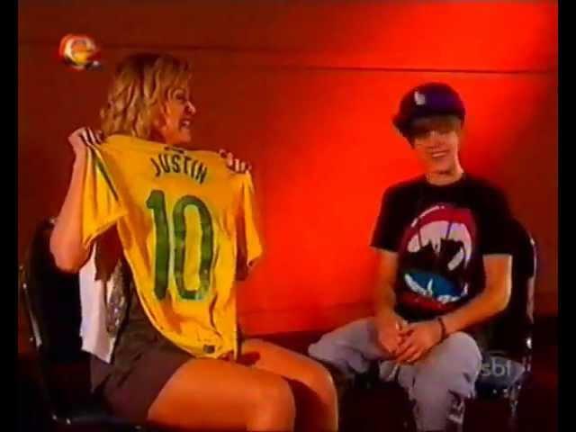 Entrevista do Justin Bieber para a Eliana (SBT) Parte 1 [Interview to brazilian TV Show]