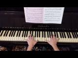 Красивая мелодия на пианино Вальс из фильма