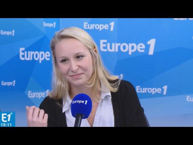 Marion Maréchal Le Pen parle de lIVG, de Fillon et dAlepSyrie (EUROPE 1, 141216, 19h)