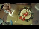 Юлия Валько Новогодняя тарелочка