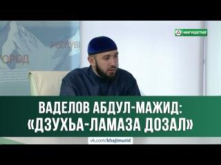 © Ваделов Абдул-Мажит - «Дзухьа-Ламаза дозал» 19.07.2017