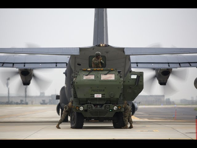 HIMARS Rapid Deployment Training in South Korea