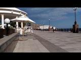 Крым, Судак,  набережная и пляж 31 мая 2017