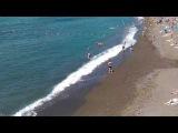 Крым, Судак, набережная и пляж 2 июня 2017