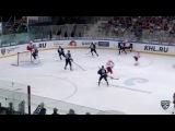 КХЛ (Континентальная хоккейная лига) - Моменты из матчей КХЛ сезона 16/17 - Гол. 5:3. Саюстов Дмитри