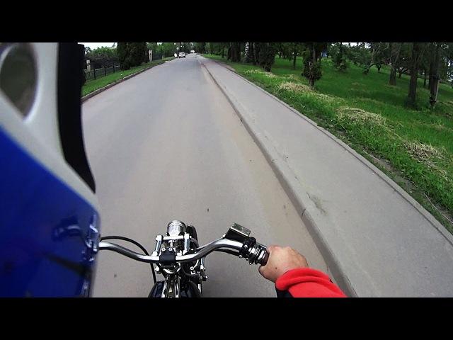 Мотоартель: За рулем кастом-байка на базе YAMAHA YBR125