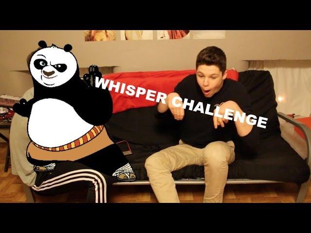 Whisper Challenge w/ whynot_joey
