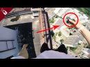 Паркур от первого лица КРУЧУ СПИННЕР НА КРАЮ КРЫШИ опасные трюки на высоте /Стас ...