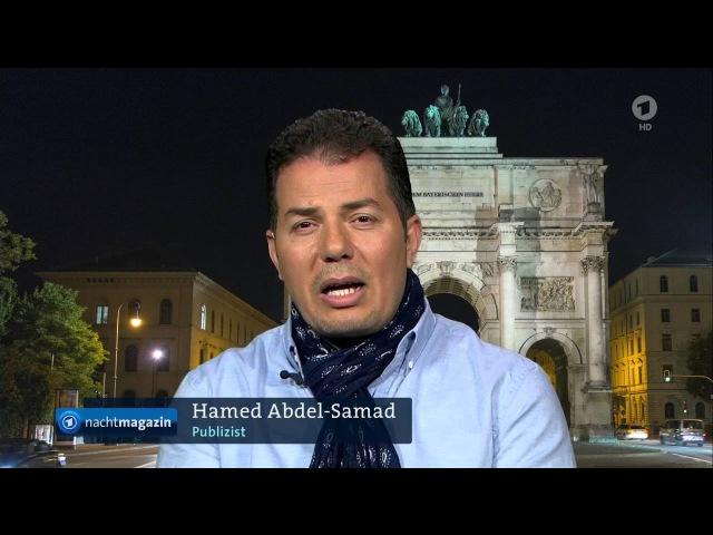 Hamed Abdel-Samad zum Anti-Islam-Kurs der AFD (Nachtmagazin 19.04.2016)