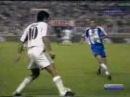 Малага 3-3 Реал Мадрид . Чемпионат Испании 2000-2001. 2 тур
