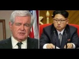 BREAKING NEWS TRUMP 102317 , Newt Gingrich Talks Aabout , North Korea  and Trump's new tax plan
