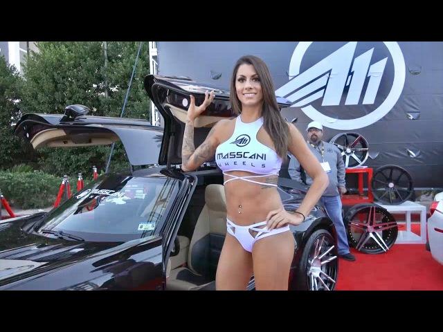 Hot Girls Cars SEMA Show 2016