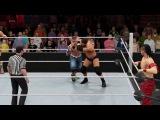 Chad Gable &amp John Cena vs. Curtis Axel &amp Shinsuke Nakamura (WWE Tag Team Championship)