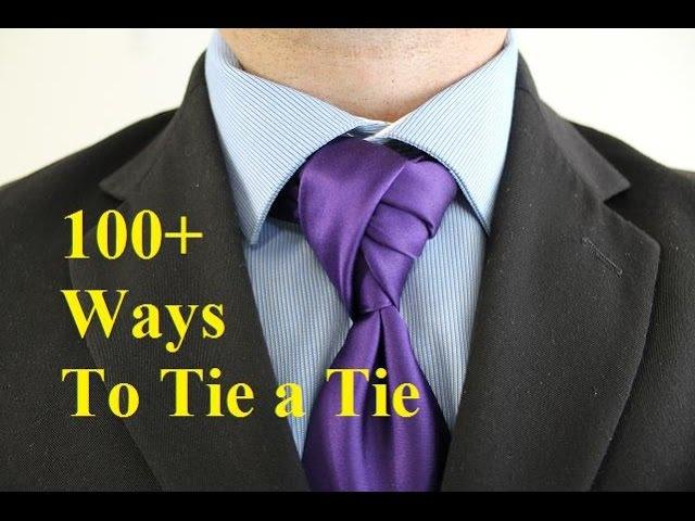 How To Tie a Tie Deivao Twist Knot for your Necktie