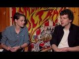 Kristen Stewart &amp Jesse Eisenberg - American Ultra Interview HD