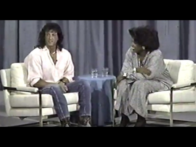 Sylvester Stallone on Oprah 1988