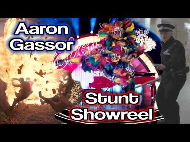 Aaron Gassor Stunt Showreel   Ginger Ninja Trickster   (Taekwondo Kicks, Flips, Falls More)