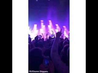 VIDEO ¡Eleanor y Louis en la historia de Instagram de una fan esta noche en el concierto de James Arthur!