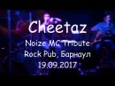 Cheetaz - Трибьют Noize MC 19.09.2017, Rock Pub, Барнаул