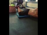 Попробовал новое упражнение на косые мышцы живота .