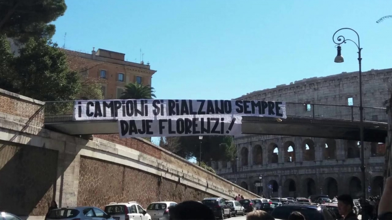 Alessandro Florenzi GRAZIE A TUTTI!