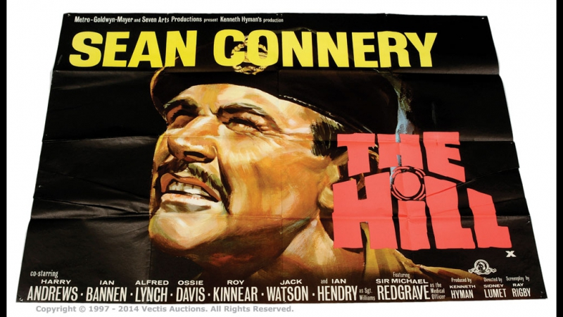The Hill, 1965-Sidney Lumet--Sean Connery Harry Andrews Ian Bannen Ian Hendry Ossie Davis