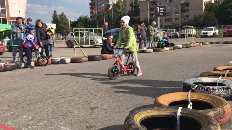 Большая Осенняя БеговелоГонка Вологда 23 09 2017 г Категория 6