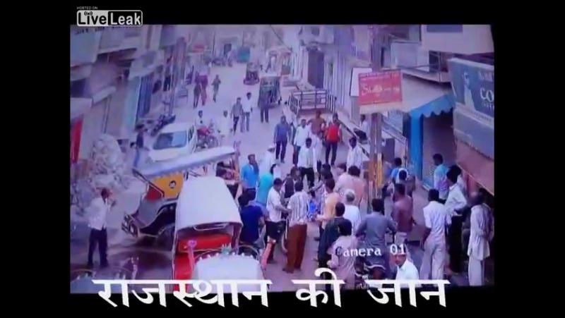 Смертельная разборка на дороге, Индия