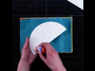 Шар для декора из бумаги тишью