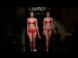 Triumph показ нижнего женского белья.