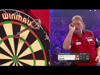 Martin Adams vs Jeff Smith (BDO World Darts Championship 2017 / Round 2)