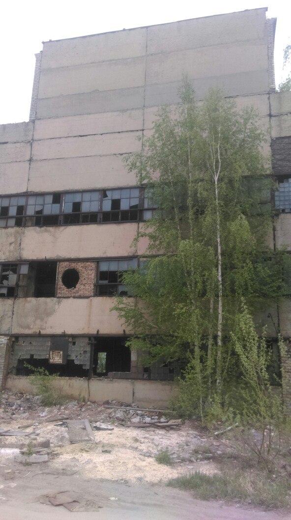 Заброшенное здание Рязцветмета.