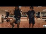 Dancehall Choreo by Kinzy Lil Gbb . Admiral T - Follow The Leader
