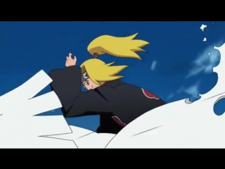 Дейдара и Сасори против Оручемару.  Итачи и Какудзу против Хидана.