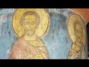 Древние фрески Новгорода. Церковь Симео́на Богоприи́мца Зверина монастыря