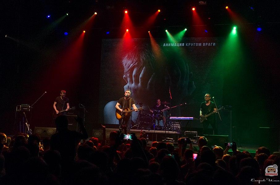 концерт группы АнимациЯ YOTASPACE 04 марта репортаж, фото Илья Егоров