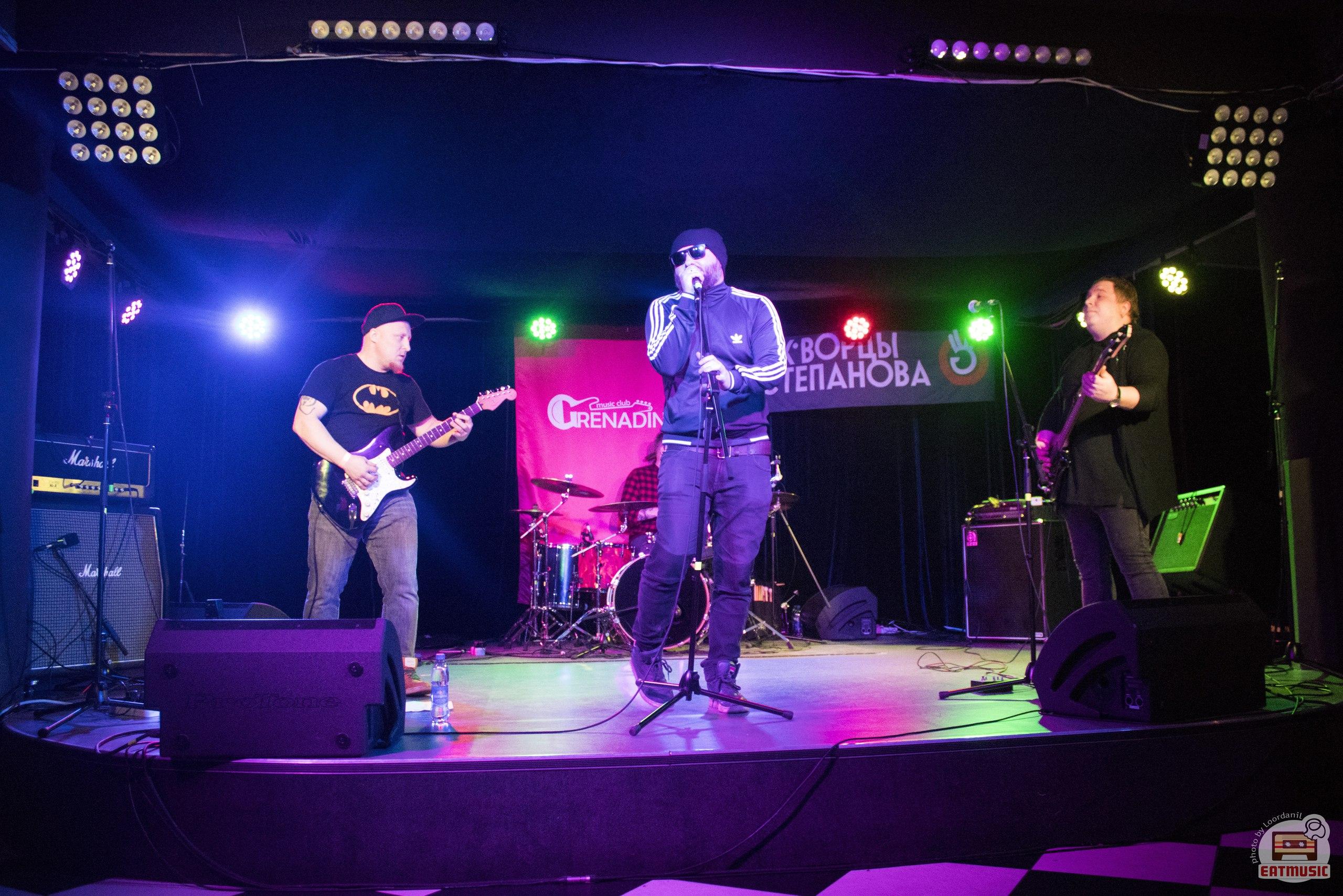 Концерт группы Скворцы Степанова в клубе Grenadine 10-03-17: группа Бен Ганн репортаж, фото Роман Воронин