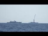 Удар крылатыми ракетами «Калибр» по объектам