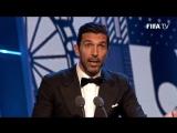 The Best FIFA Football Awards™ - награждение Буффона и его речь