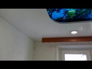 3D натяжной потолок г. Пермь Строительство и технологии