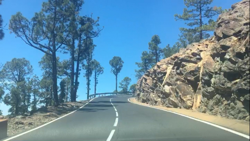 По дороге на вулкан ...