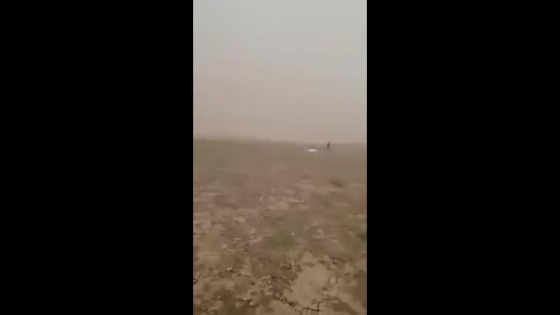 Песчаная буря на подступах к Ракке