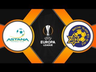 Астана 4:0 Маккаби | Лига Европы 2017/18 | Групповой этап | 3-й тур | Обзор матча