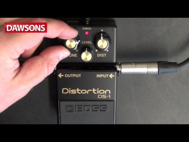 BOSS DS-1-4A Ltd Edition 40th Anniversary Review