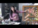 Как нарисовать большую картину для интерьера своими руками