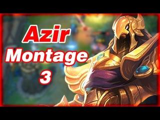 Azir Montage 3 - Best Pro Outplays Compilation | League of Legends