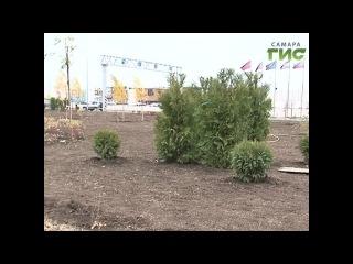 В Самаре завершается благоустройство зелёной зоны на Южном шоссе